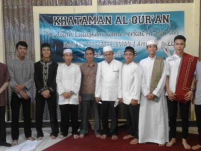Kegiatan Sholat Hajat dan Khataman Al-Quran